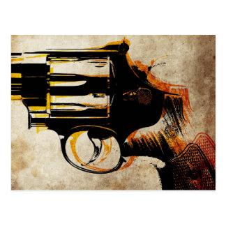 Cartão Postal Disparador do revólver