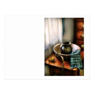 Cartão Postal Dissipador - uma bacia de lavagem II