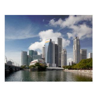 Cartão Postal Distrito financeiro de Singapore