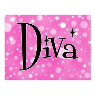 Cartão Postal Diva