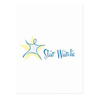 Cartão Postal Divisões da estrela