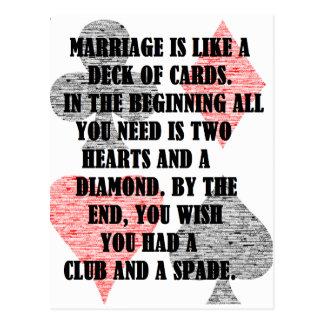 Cartão Postal Divórcio: Humor