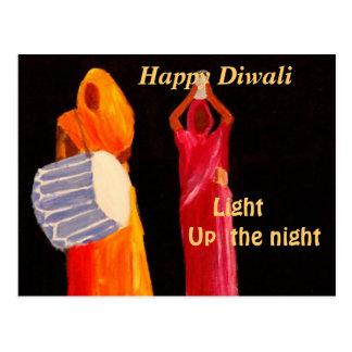 Cartão Postal Diwali