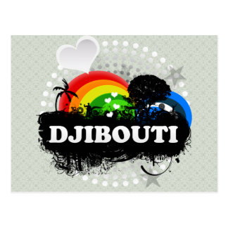 Cartão Postal Djibouti frutado bonito