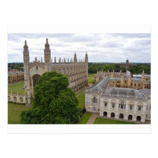 """Cartão Postal Do """"A Faculdade rei, Cambridge"""