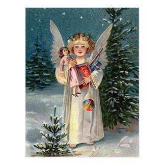 """Cartão Postal Do """"anjo Natal """""""