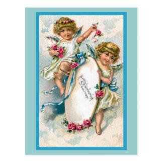 """Cartão Postal Do """"cartão de aniversário alemão vintage """""""