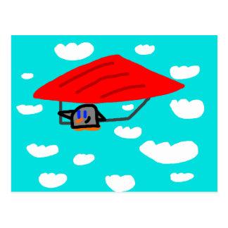 """Cartão Postal Do """"cartão do sibilo planador"""""""