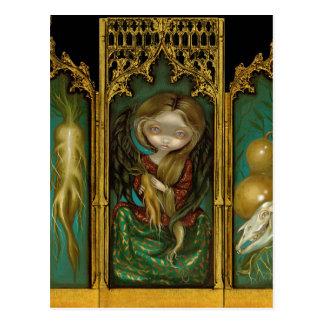 """Cartão Postal Do """"cartão do Triptych Mandragora"""""""
