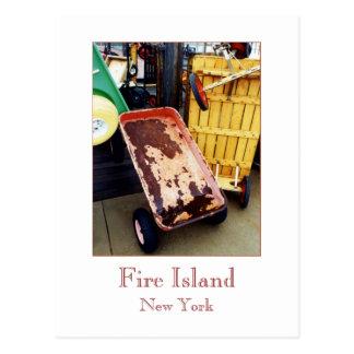 """Cartão Postal Do """"cartão dos vagões coloridos ilha fogo"""""""