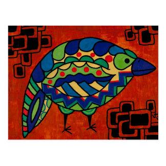 """Cartão Postal Do """"vaia passarinho"""" por Lara Kulpa"""