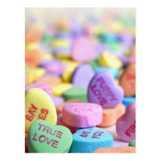 Cartão Postal Doces do amor