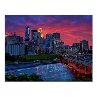 Cartão Postal Doces do olho de Minneapolis