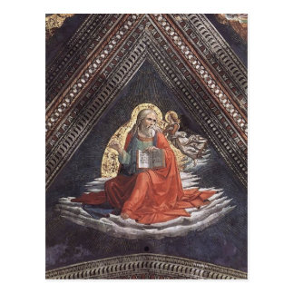 Cartão Postal Domenico Ghirlandaio: St Matthew o evangelista