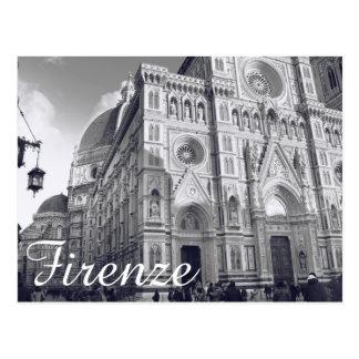 Cartão Postal Domo de Firenze