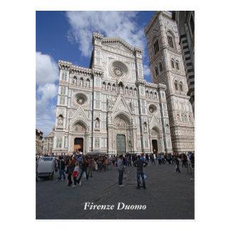 Cartão Postal Domo de Florença