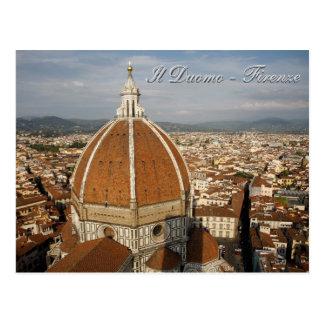 Cartão Postal Domo do IL - Firenze