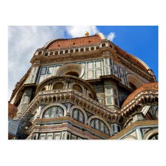 Cartão Postal Domo, em Florença, Toscânia, Italia