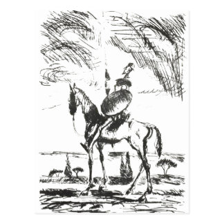 Cartão Postal Don Quixote