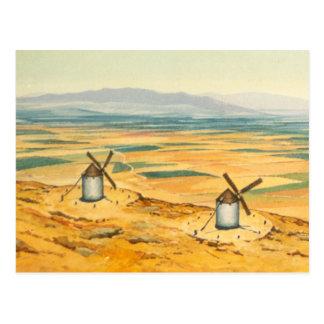 Cartão Postal DON QUIXOTE - animação Fundo (1979)