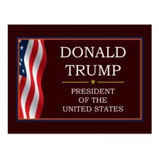 Cartão Postal Donald Trump para o presidente V3