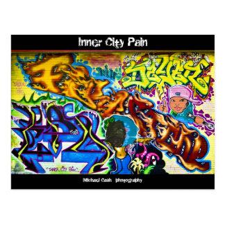 Cartão Postal Dor do centro urbano