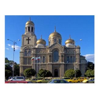 Cartão Postal Dormition da catedral de Theotokos, Varna