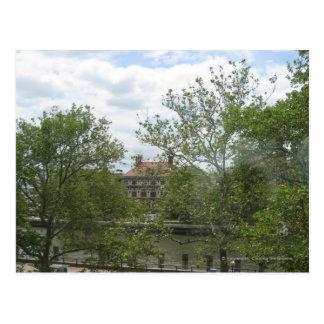 Cartão Postal Dormitórios do Ellis Island