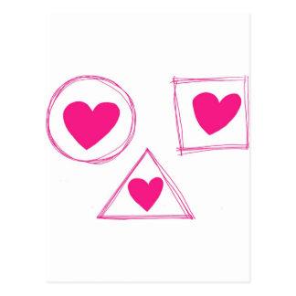 Cartão Postal Dos Namorados do diâmetro dos DOM