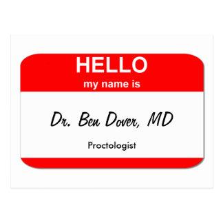 Cartão Postal Dr. Ben Dôvar, DM
