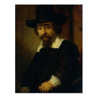 Cartão Postal Dr. Ephraim Bueno de Rembrandt, médico e escritor