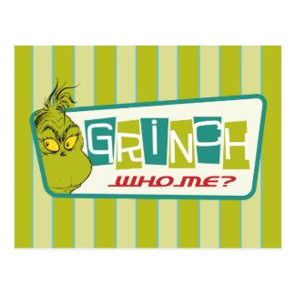 Cartão Postal Dr. Seuss | o Grinch - quem mim?