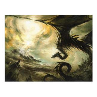 Cartão Postal Dragão