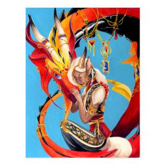Cartão Postal Dragão-Amado