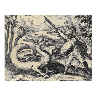 Cartão Postal Dragão da alquimia