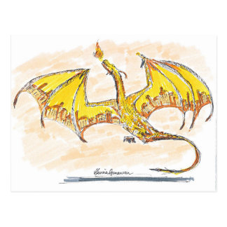 Cartão Postal Dragão da cidade