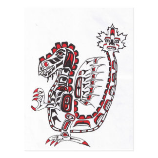 Cartão Postal Dragão do Haida