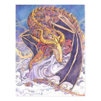 Cartão Postal Dragão tímido