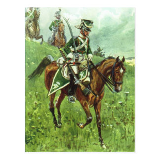 Cartão Postal Dragoon de Württemberger