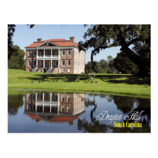 Cartão Postal Drayton Salão, South Carolina