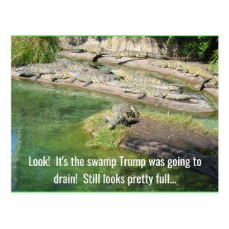 Cartão Postal Drene o pântano