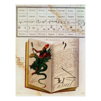 Cartão Postal Duas páginas 'dos Magus