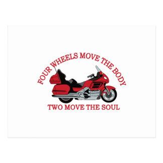 Cartão Postal Duas rodas