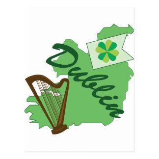 Cartão Postal Dublin