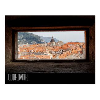Cartão Postal Dubrovnik das paredes da cidade