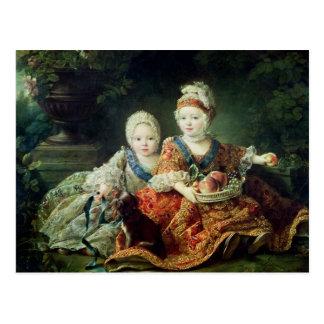 Cartão Postal Duc de Baga e Louis de de Louis de France