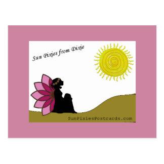 Cartão Postal Duendes de Sun de Dixie