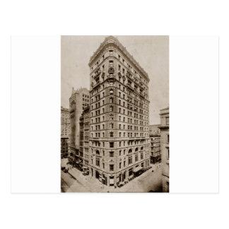 Cartão Postal Dun que constrói Broadway e St. de Reade