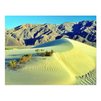 Cartão Postal Dunas de areia do Vale da Morte