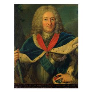 Cartão Postal Duque Adrien-Maurício de Noailles